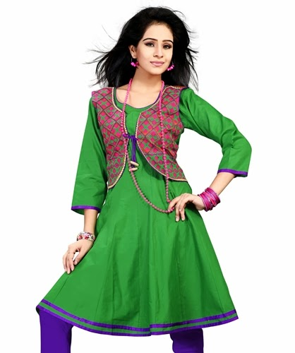 Kurtis latest designs 2014 2015 koti style embroidered for Latest design news