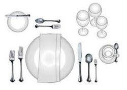 Jean\'s Restaurant Supply: Proper Table Settings