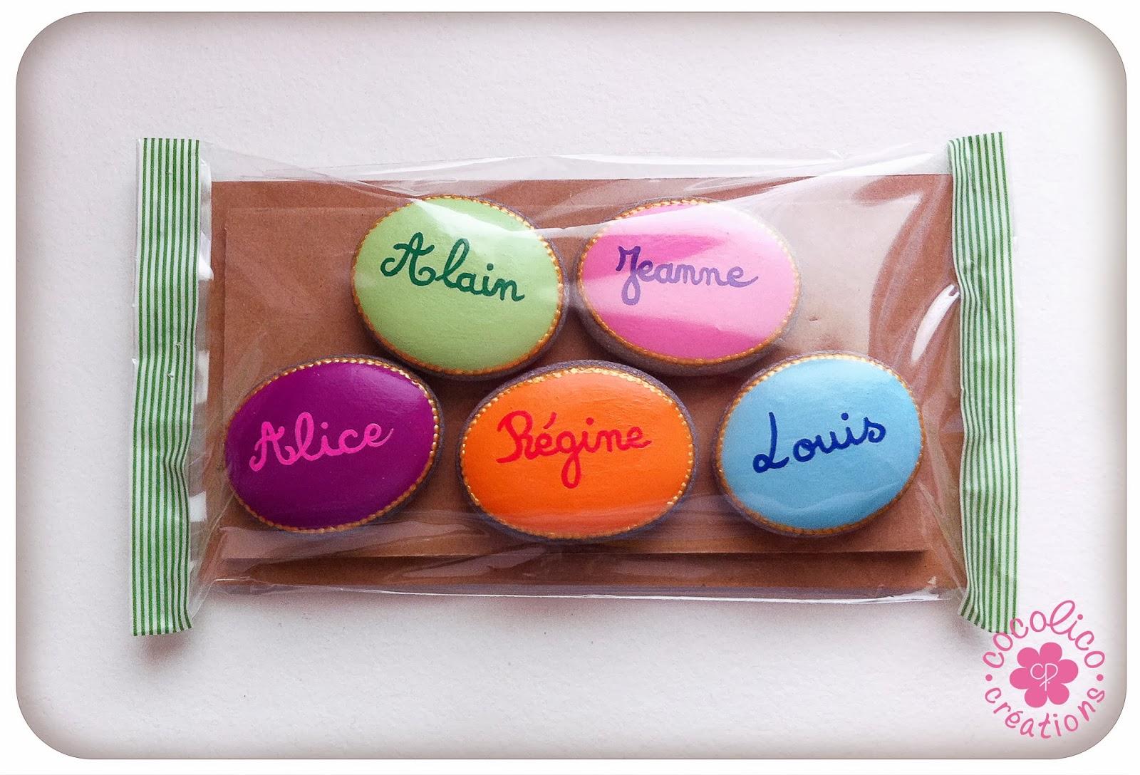 Cocolico creations petits galets magnets pr noms color s for Ou acheter des galets blancs