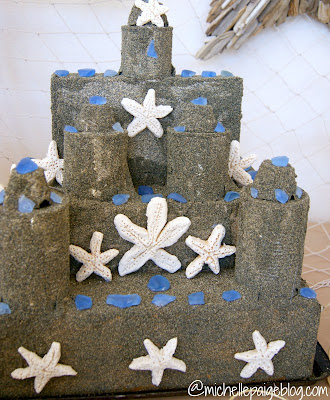 Sand Castle Centerpiece