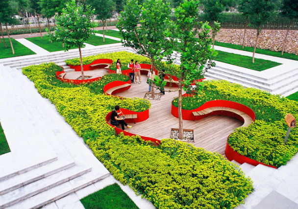 Дизайн парка и сада фото
