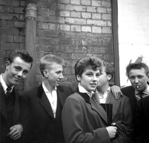 1950s Teddy Boys Gang