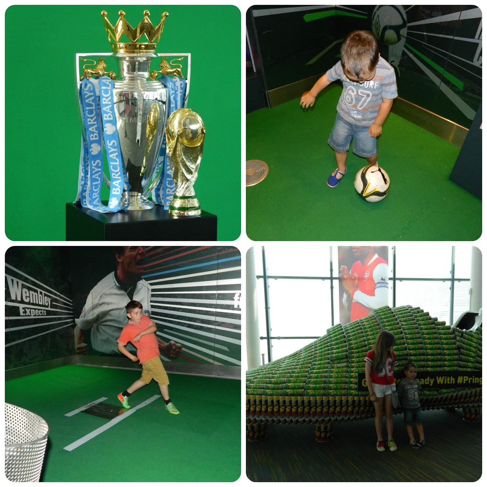 Show Us Your Mu-ves at the National Football Museum with George Sampson