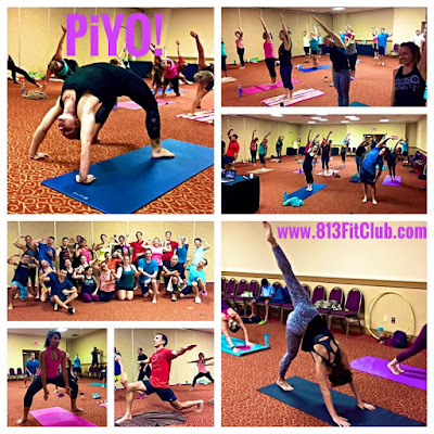 PIYO Drench Workout - PIYO Challenge - PIYO Class - Beachbody Fit Club - PIYO Tampa - 813 Fit Club