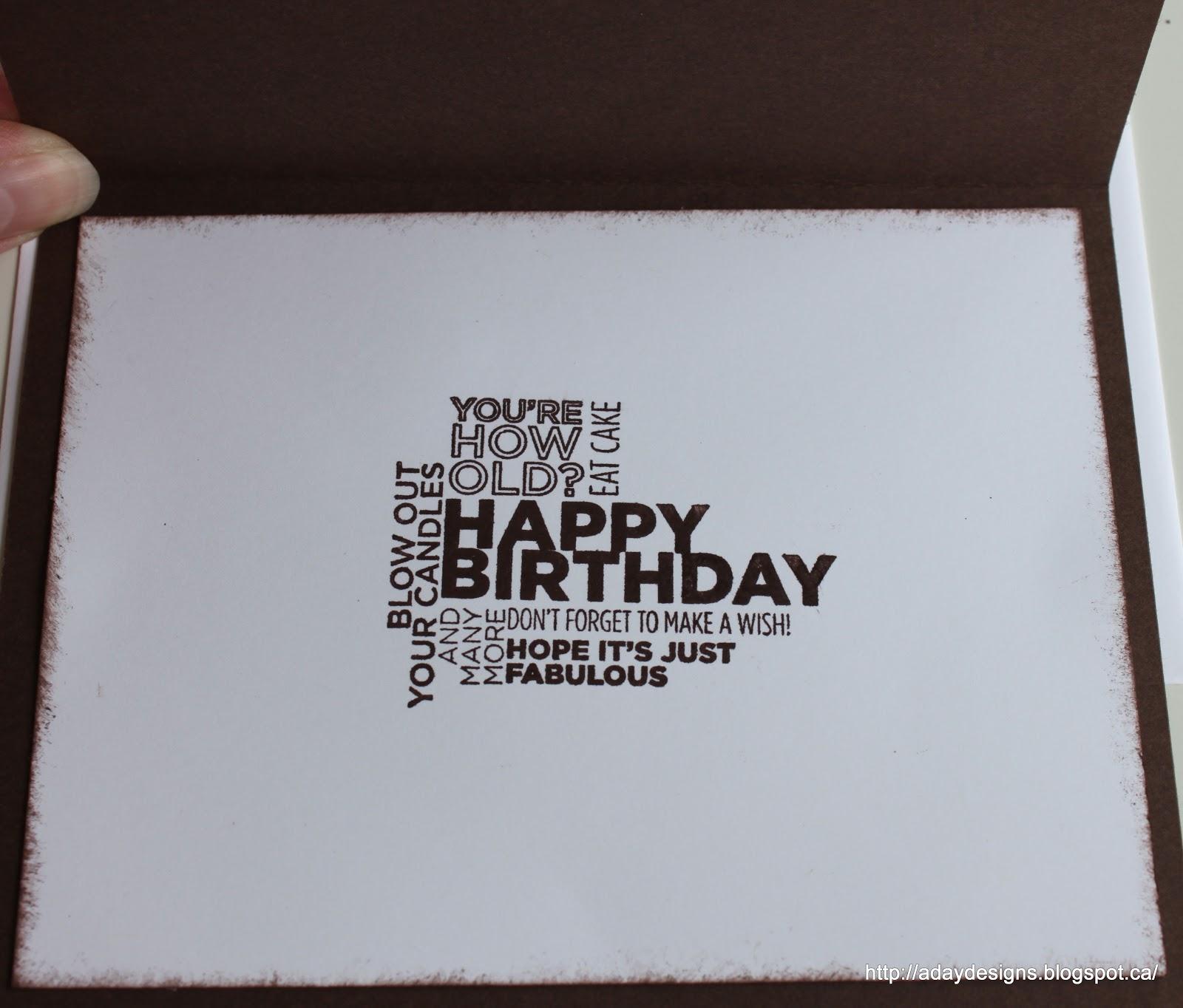 Masculine Birthday Card – International Birthday Cards