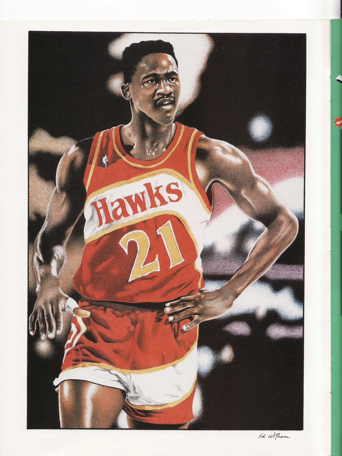 Hawks from Beckett Basketball Monthly