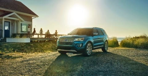 Ford Celebrates Explorer's 25th Anniversary with All-New 2016 Model