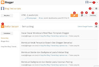 Tutorial blog dan optimasi seo