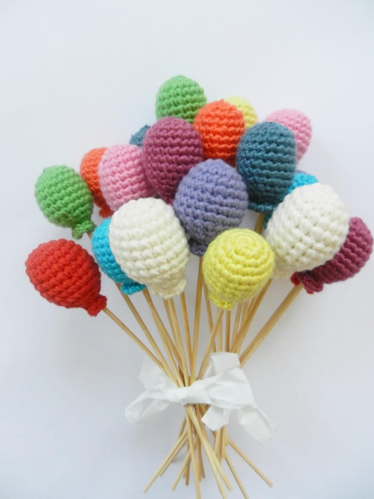 Amigurumi Sincap Yapilisi : Yaseminkale: amigurumi balon yapilisi