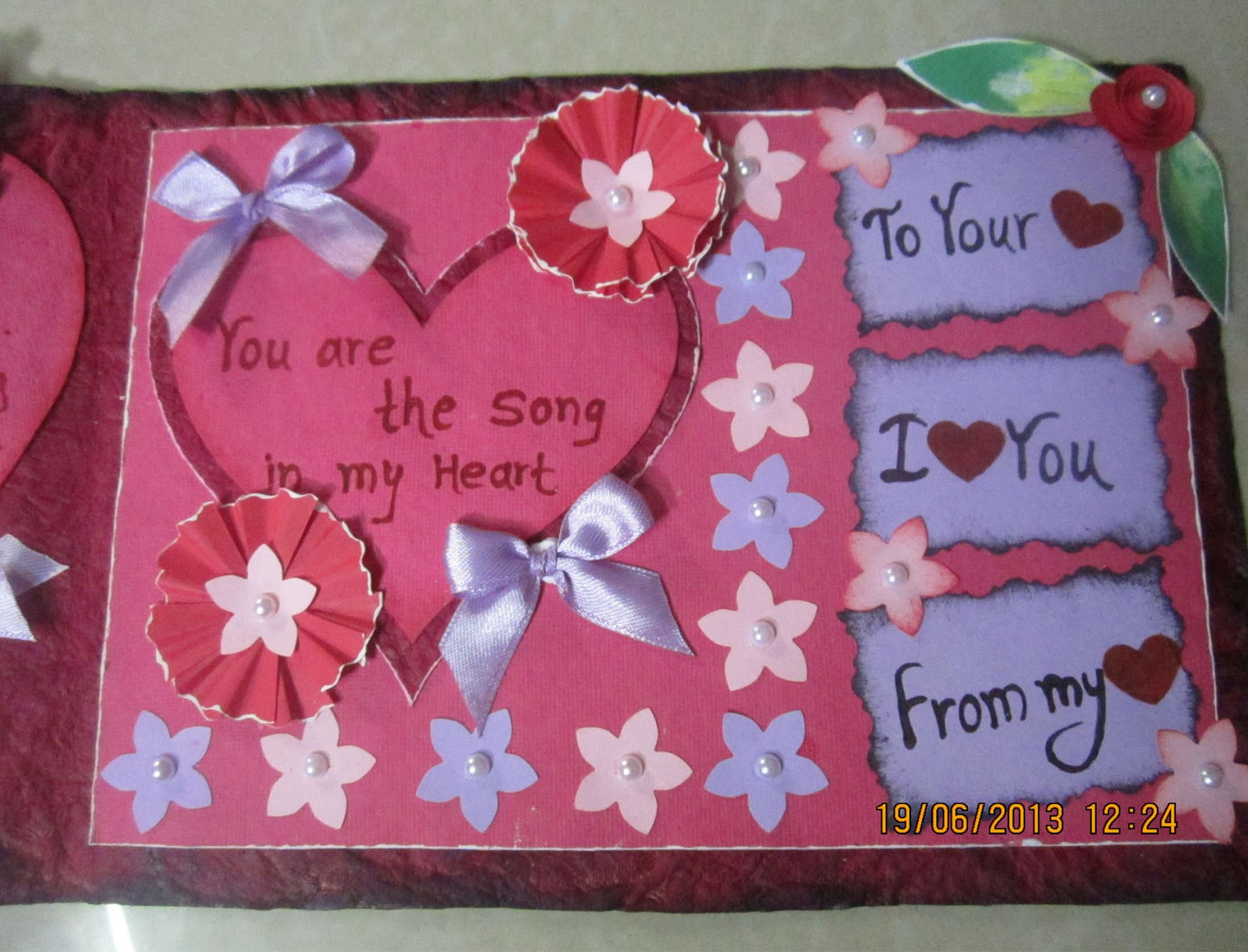 Linas Handmade Cards June 2013