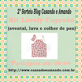 Sorteio do blog Casando e Amando!