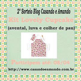 Sorteio do blog Casando e Amando!