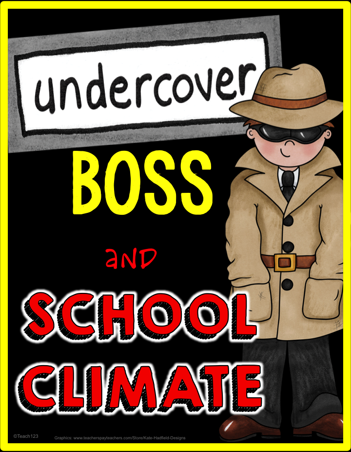 "Undercover Boss - School Style! What if administrators spent more time in classrooms ""undercover"" to experience impact of their decisions? Check out this blog post and freebie for some great ways to make it happen!"