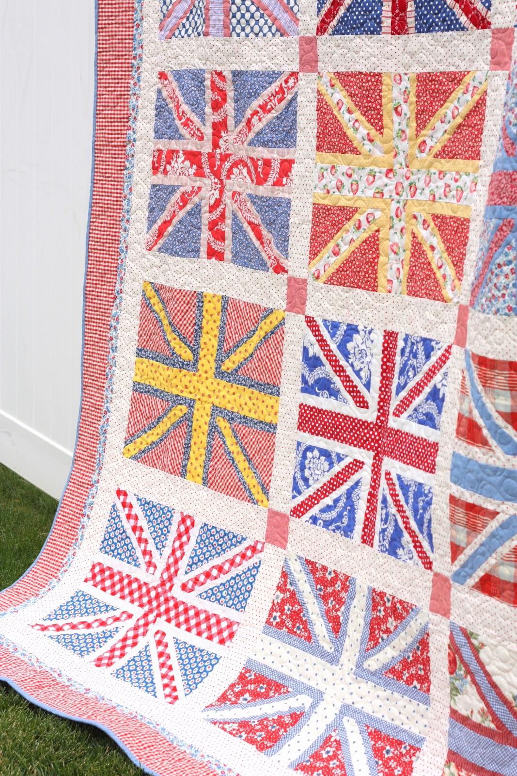 Union Jack Quilt Pattern : union jack quilt - Adamdwight.com
