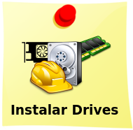 Instalando drives de Som Vídeo e Rede