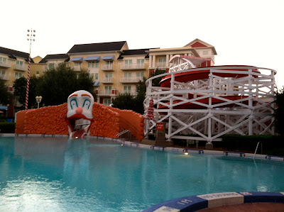 Disney Boardwalk Clown Pool