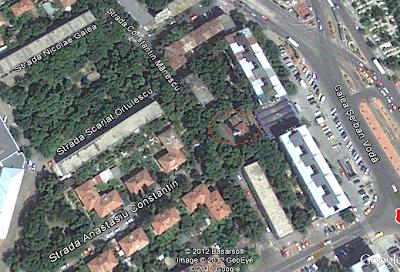 moschee eroii revolutiei vedere din satelit