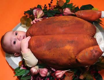 Baby as Turkey Costume