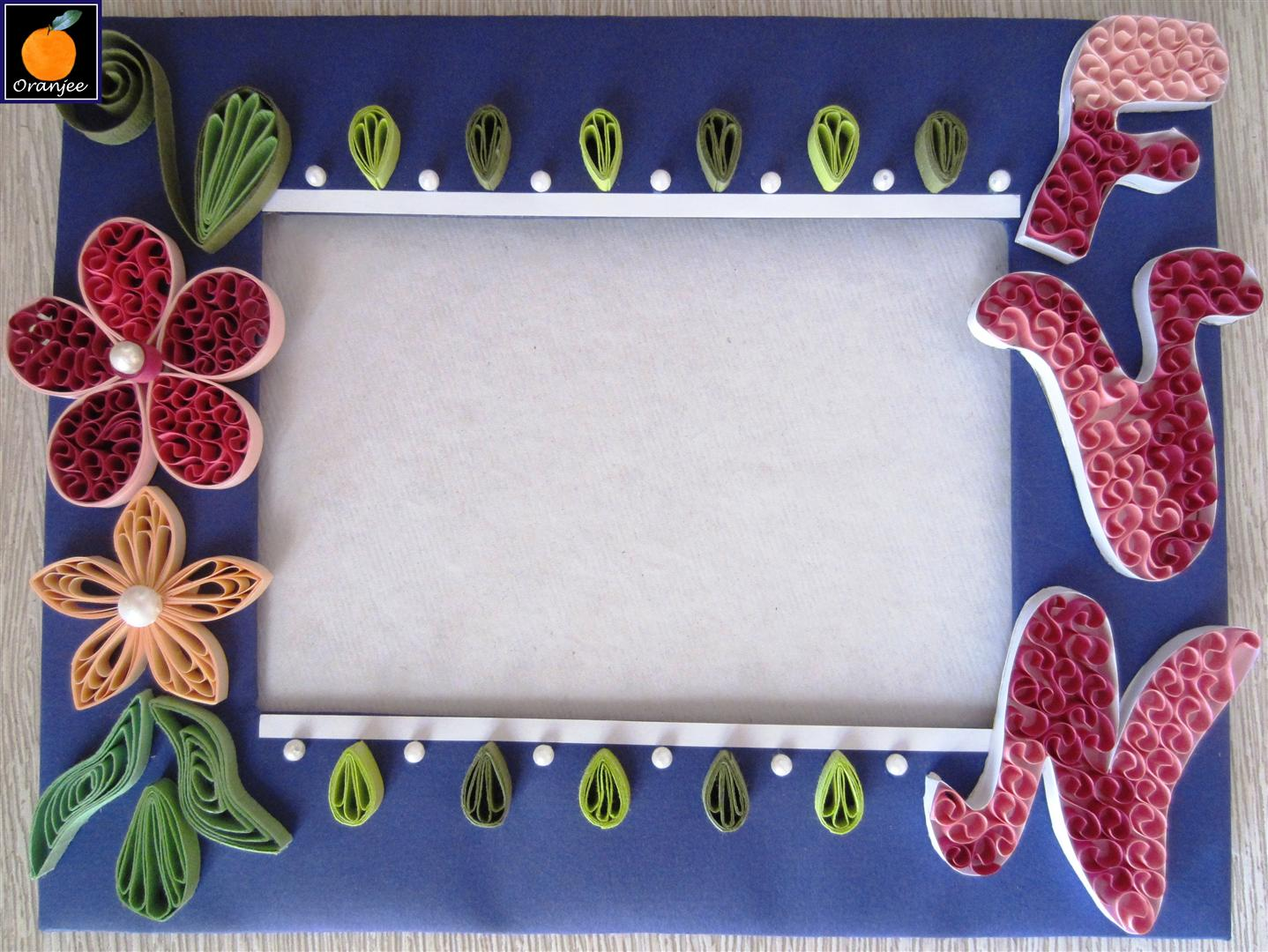 my craft work fun with frame