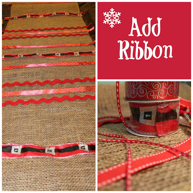 Add ribbon