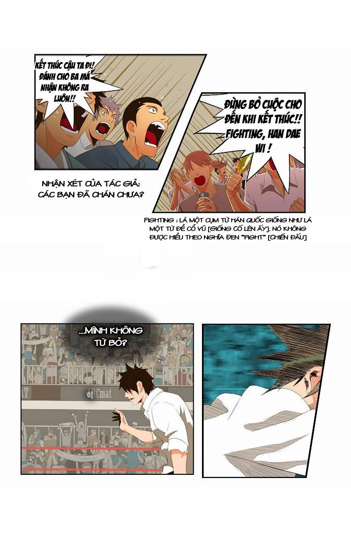 Chúa tể học đường chap 37 - Trang 14