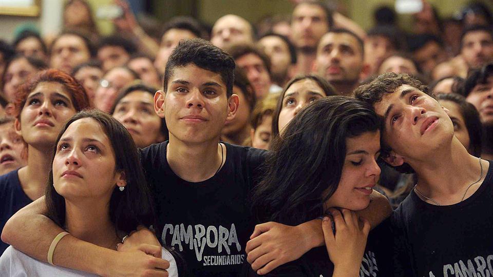 Basta Macri,explota el pais