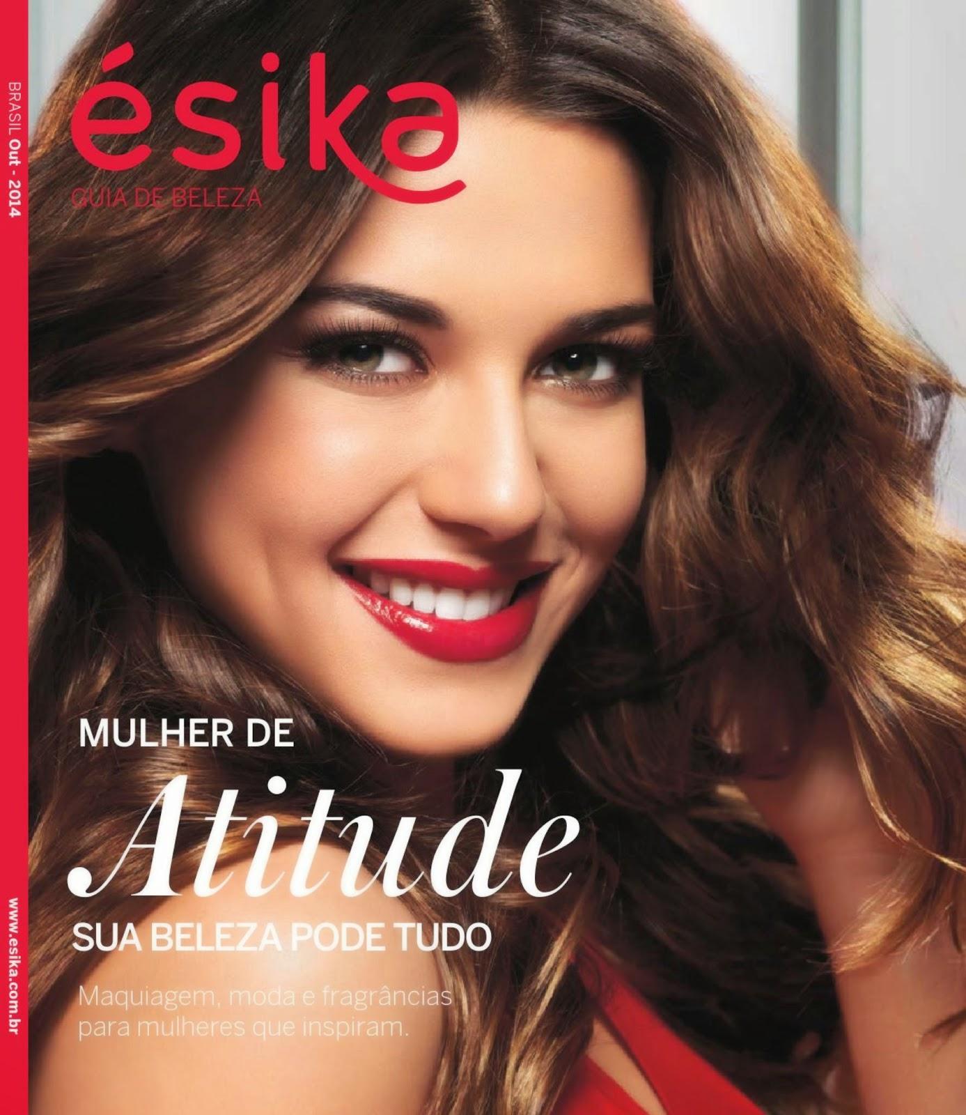 Revista Ésika Outubro 2014