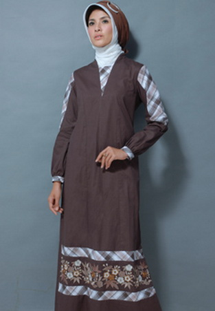 Gambar Baju Gamis Modern 337 - Baju Gamis Modern