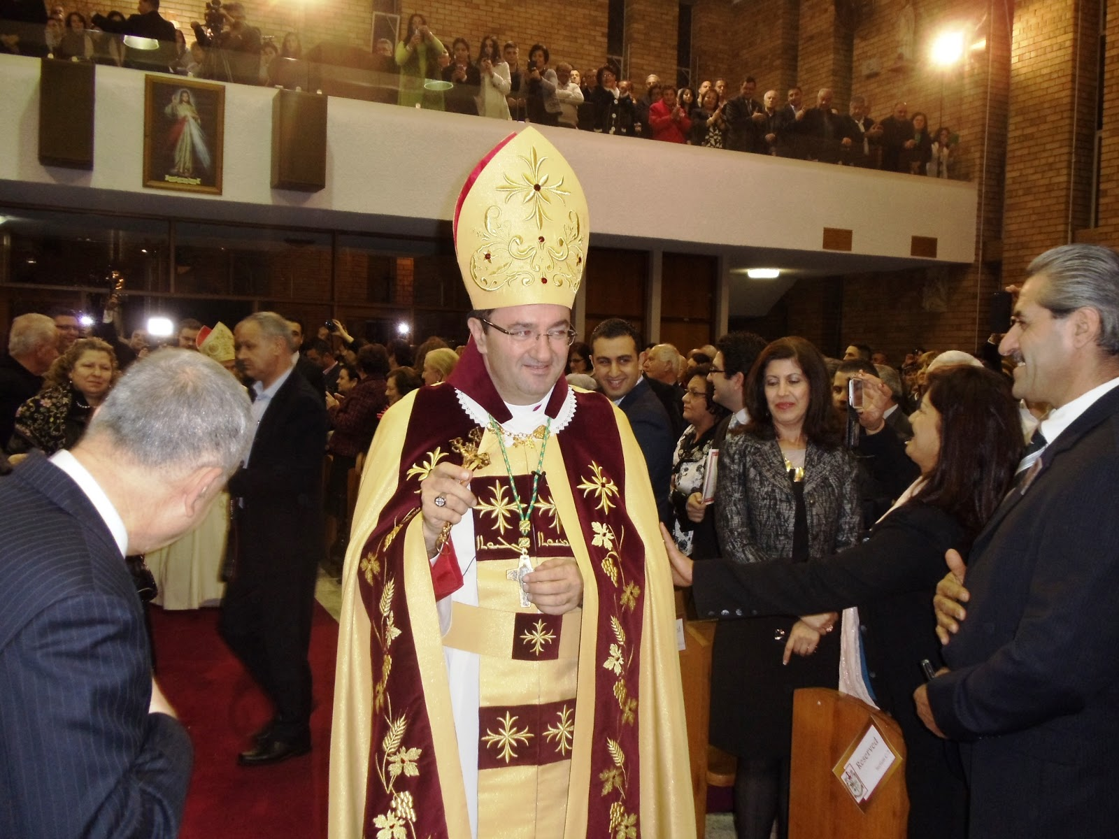 """Enfin Malherbe vint....."" Father Tarabay Bishop in full ..."