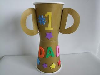 Manualidades con niños: regalos para el día del padre.