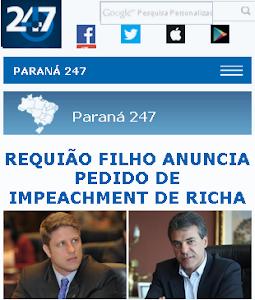 Requião filho quer vingar derrota do papai com impeachment de Beto Richa