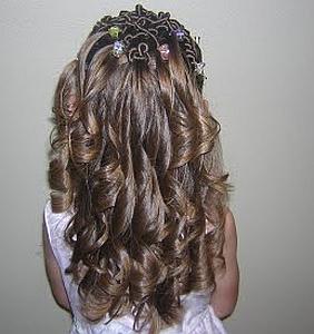 Peinados, Niña de la Flores, Cabello Largo, parte 1
