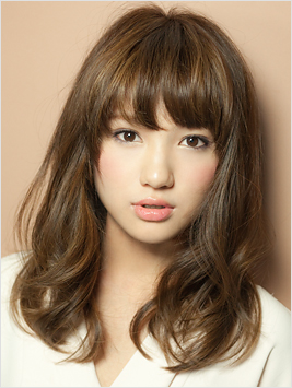 asian medium length hairstyle