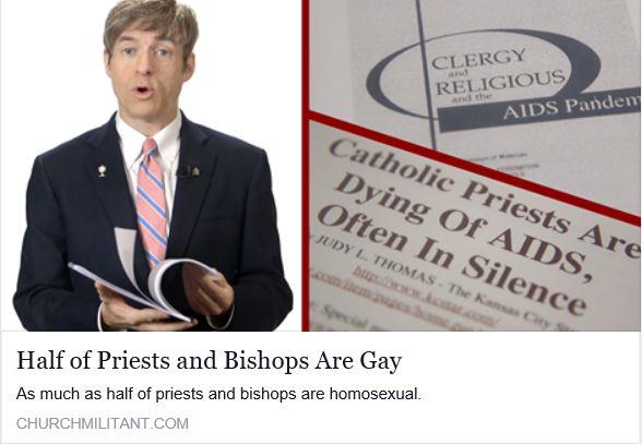 La Iglesia ha sido infiltrada por homosexuales lo que hace que sus elevaciones sean invalidas!