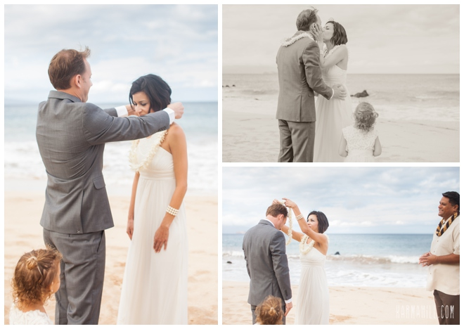Morning Beach Wedding