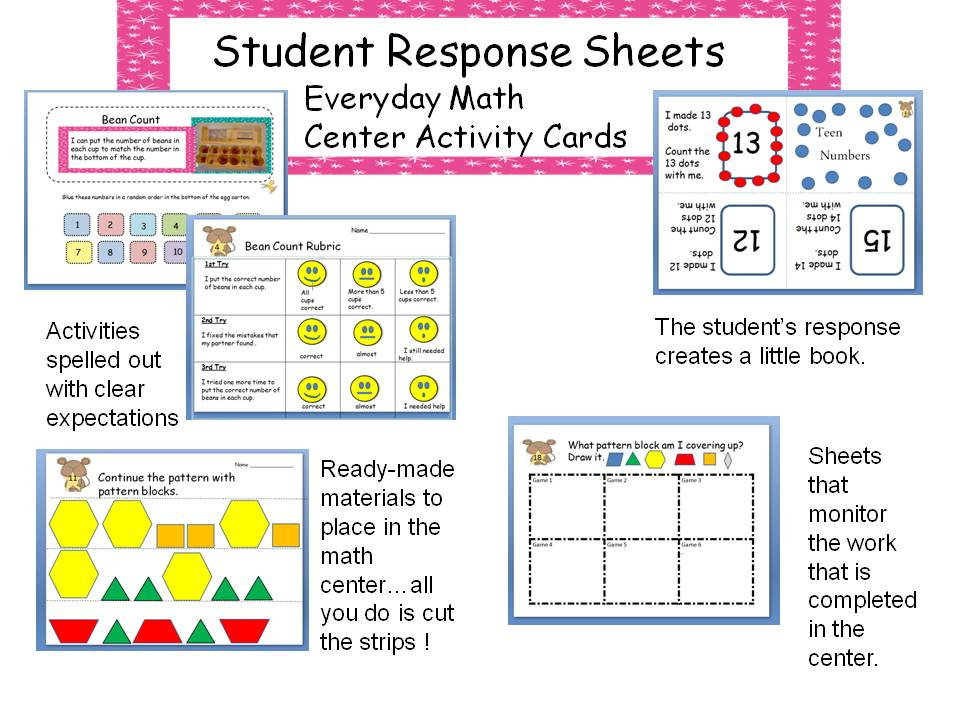 Student Math Worksheets : Multi grade matters ideas for a split class everyday