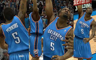 NBA 2K13 OKC Thunder Away Jersey Patch