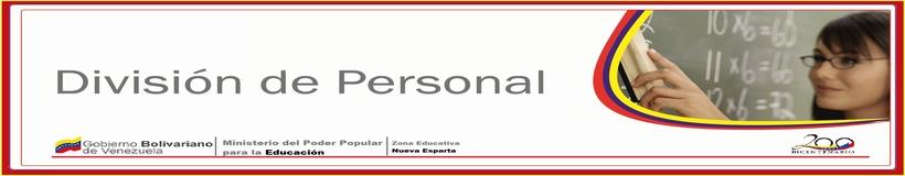 DIVISION DE PERSONAL