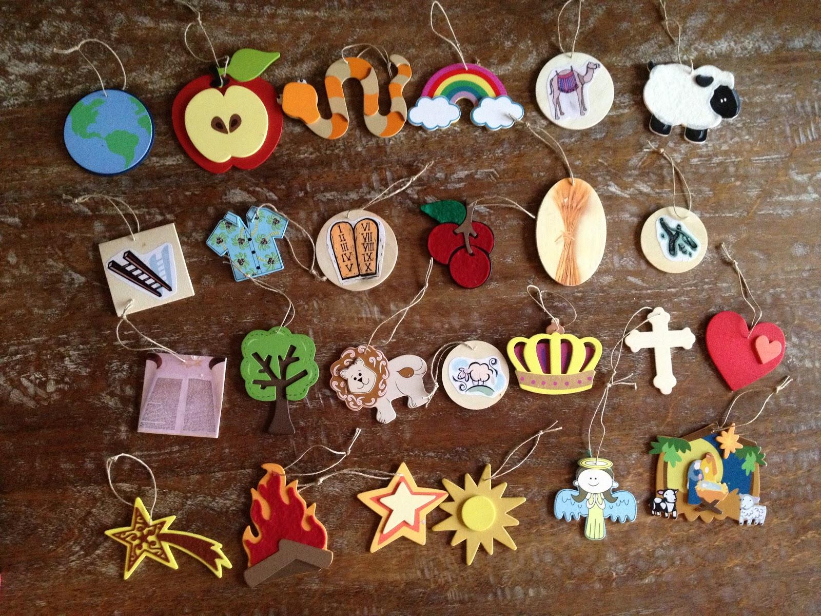 Jesse Tree Ornaments To have a jesse tree swap,