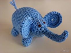 Här hittar Du mönstret till min elefjant