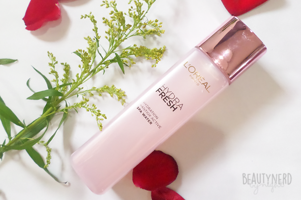 L'Oreal HYDRAFRESH Spa Water | Beauty Nerd By Night