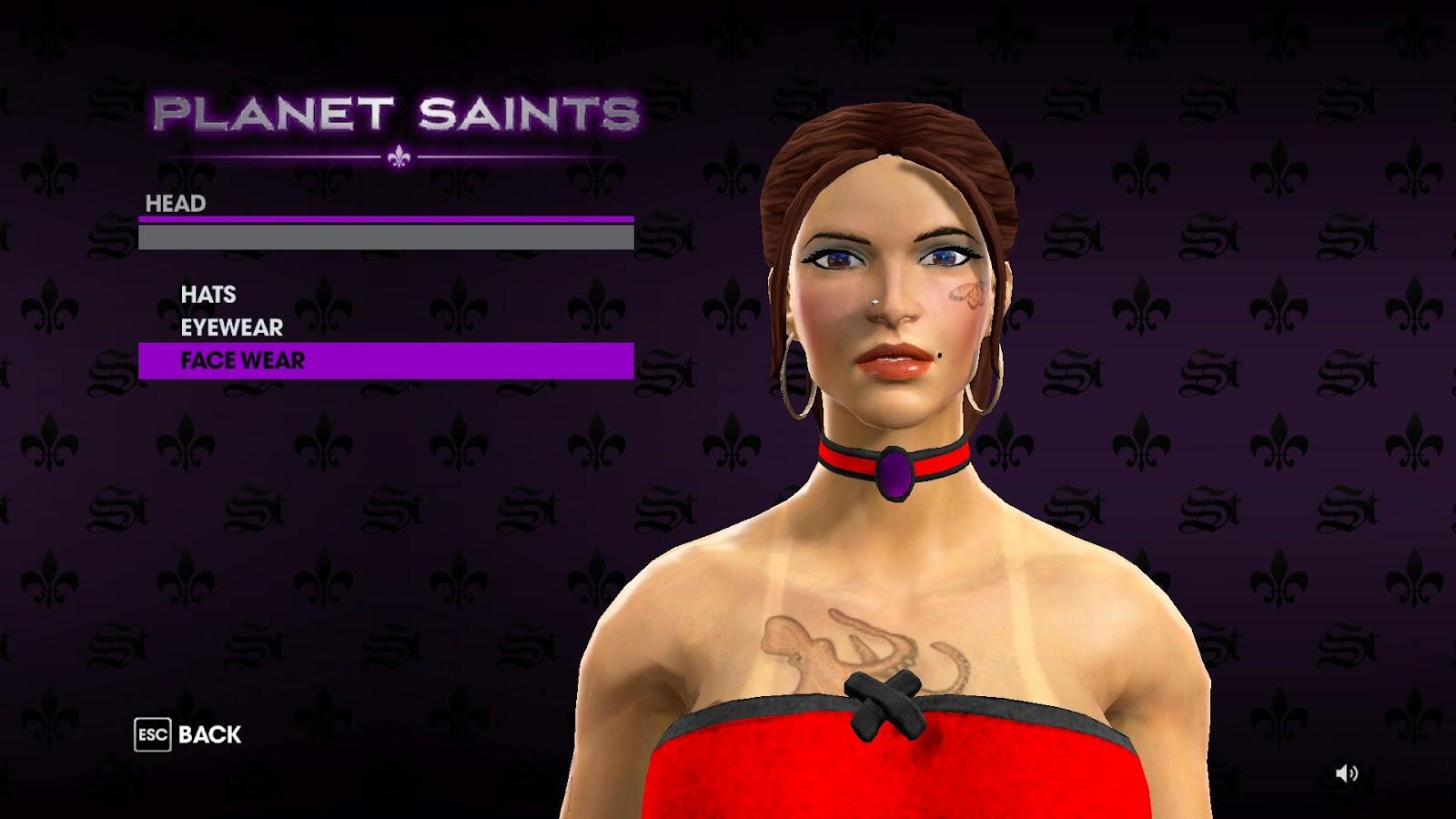 Как сделать девушку в saints row the third