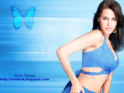 Bollywood Actress Neha Dhupia Beautiful Wallpapers Looks