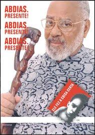 Adeus a Abdias Nascimento