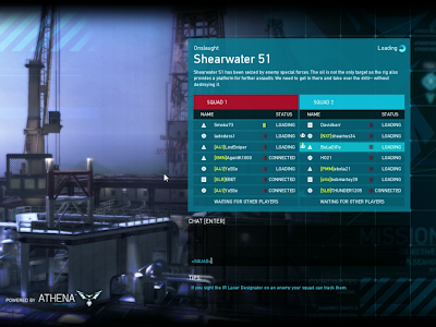Ghost Recon Online - Shearwater 51 Loading Screen