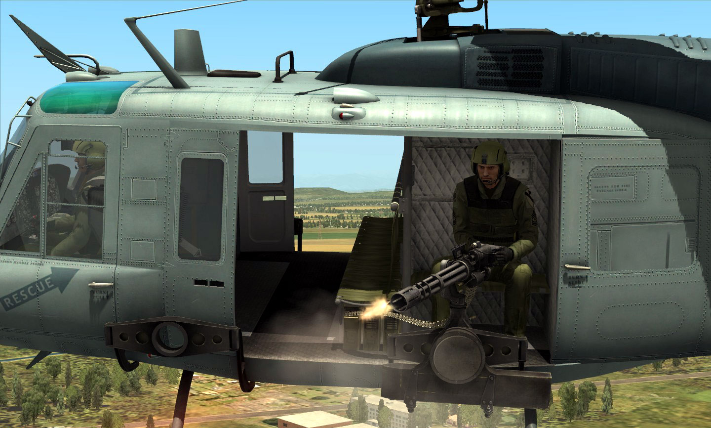 I was anxiously waiting for this official update because I heard that -finally- the AI door gunners of the Huey were given brains eyes and trigger fingers. & Real and Simulated Wars: DCS Updated to Version 1.2.7 - Now ... pezcame.com