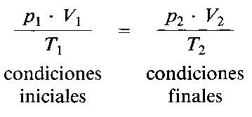 ejercicios de ley de los gases: