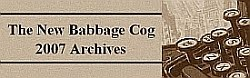 The New Babbage Cog Archives