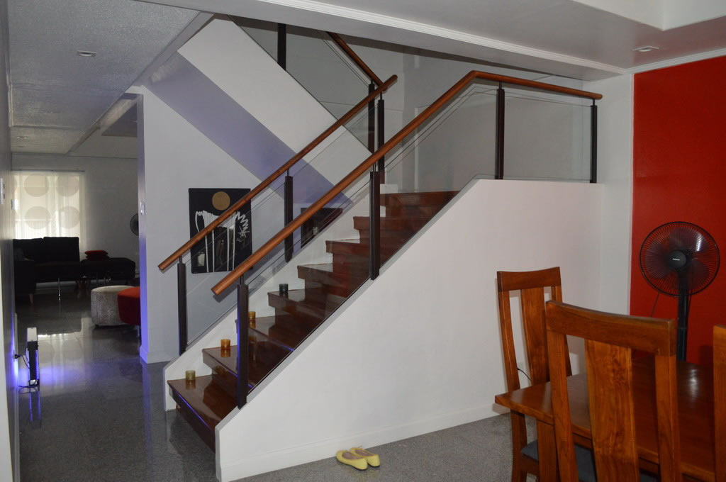glass railings philippines stair glass railings