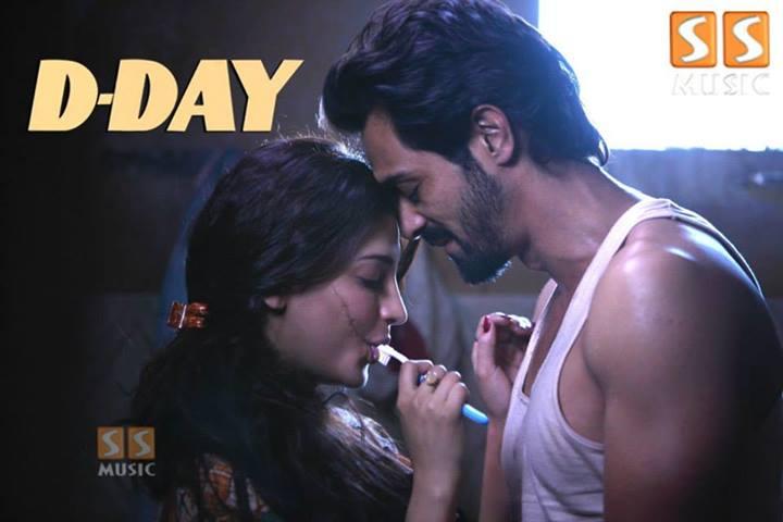 Shruti Hassan Hot Scene in D DAY  metacafecom